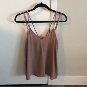 Sleeveless Leith shirt/cami